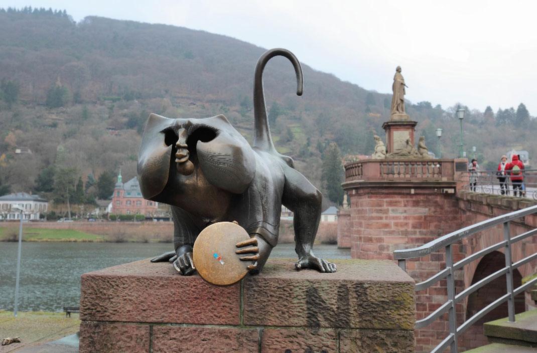 维京游德国海德堡铜猴