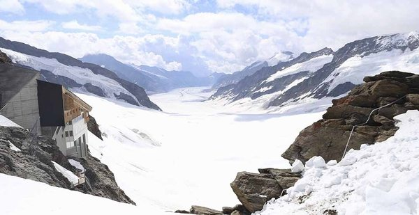 维京游轮游记瑞士少女峰
