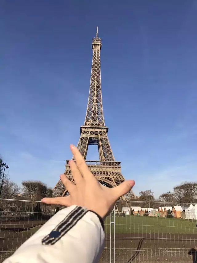 维京游轮游记法国埃菲尔铁塔