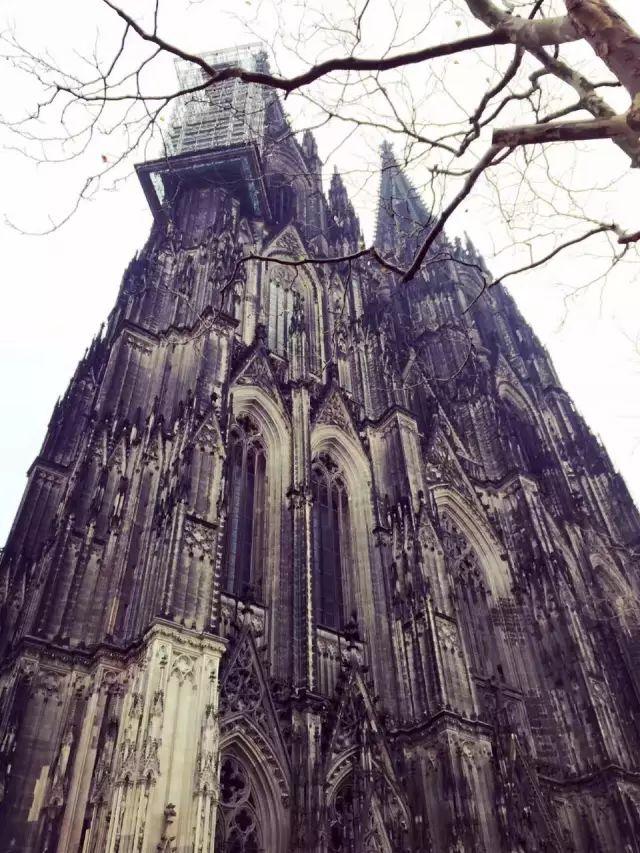维京游轮游记德国科隆大教堂
