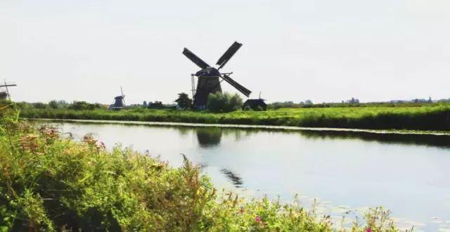 维京游轮游记荷兰小孩堤防