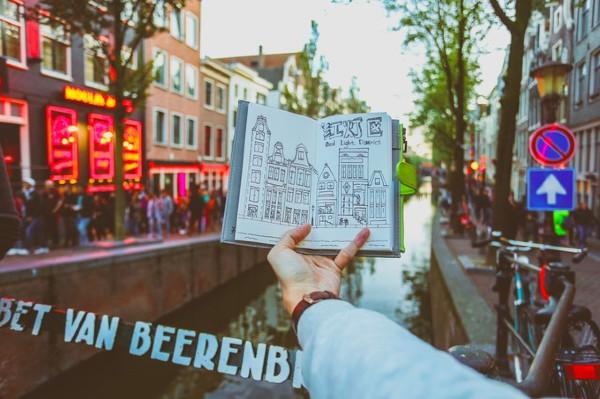 维京游轮游记荷兰活色生香红灯区