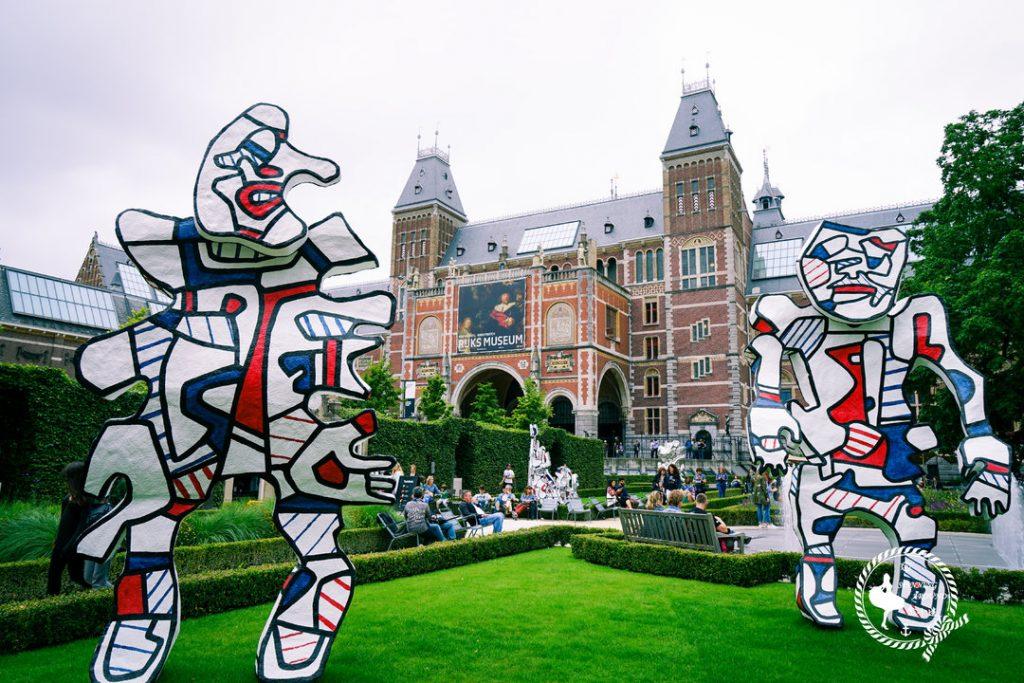 维京游轮游记阿姆斯特丹国家博物馆