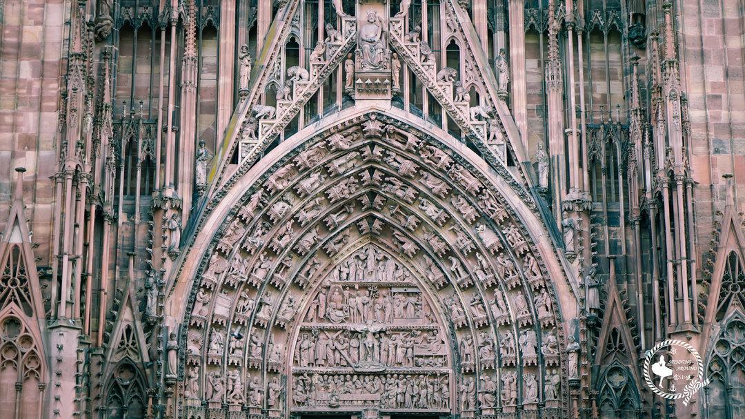 维京游轮游记斯特拉斯堡圣母大教堂