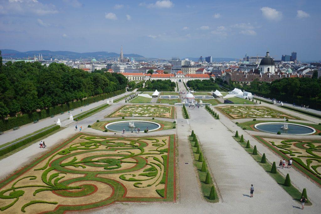 维京游轮游记维也纳美景宫