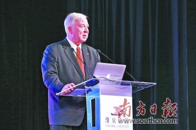 维京游轮让世界游客可以坐着游轮来了解中国